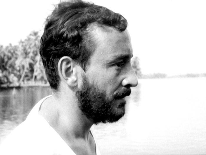 """Louis Malle sur le tournage de """"L'Inde fantôme"""" (DR)"""