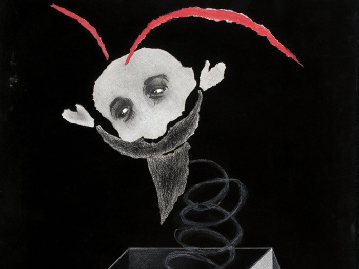 Maquette d'affiche par Pierre Etaix