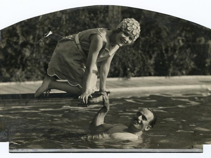 Mary Pickford et Douglas Fairbanks