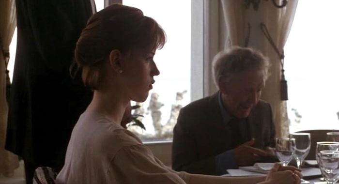Molly Ringwald et Burgess Meredith dans King Lear