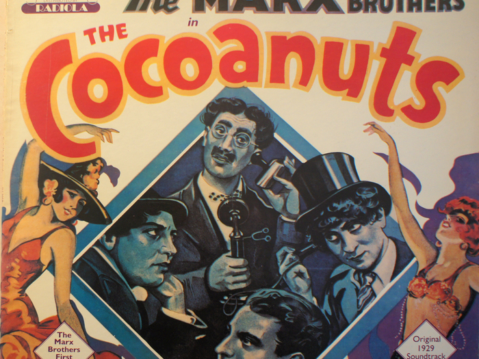Bande originale de The Cocoanuts, disque vinyle, fonds Jacques Poitrat