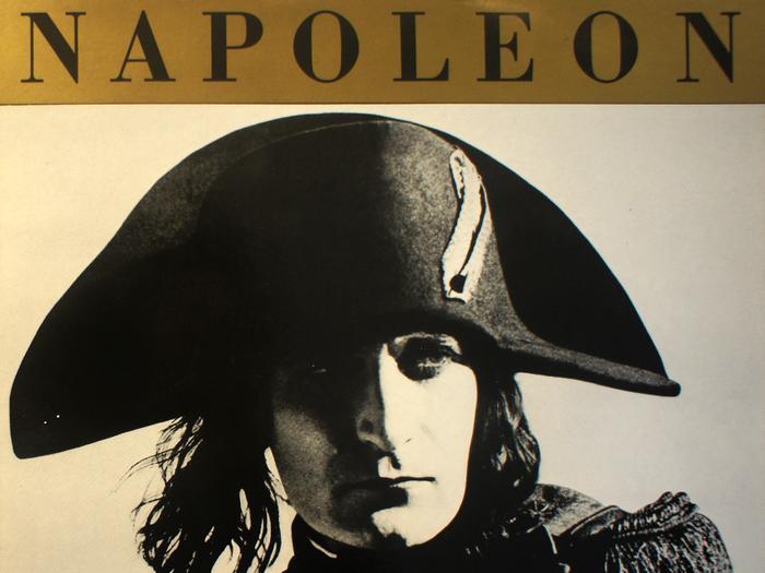 Musique pour le Napoléon d'Abel Gance, disque vinyle, fonds Jacques Poitrat.