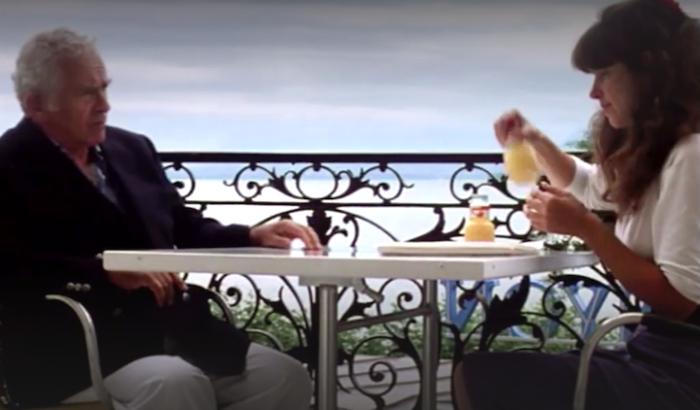 Norman Mailer et sa fille Kate Mailer dans King Lear
