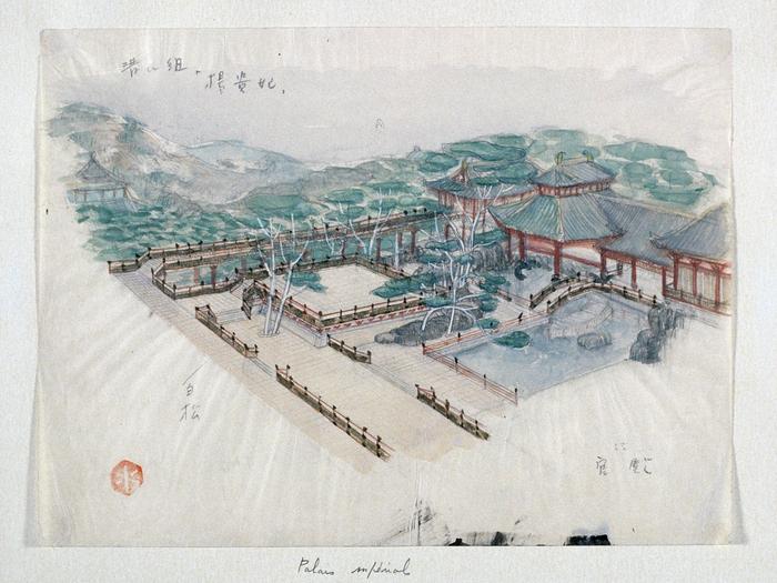Palais impérial Mizutani © Mizutani