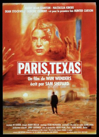 Paris, Texas (Wim Wenders, 1983) © Guy Peellaert, 1984