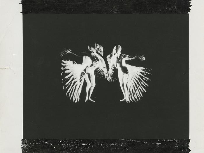 Pas de deux, photographie de plateau, 1968 © Norman McLaren. Coll. Cinémathèque française