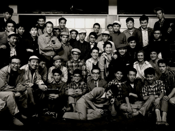 Photo de fin de tournage Hiroshima mon amour