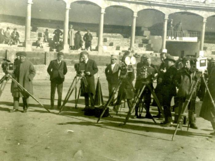 Photo de tournage (Carmen - Jacques Feyder - 1926)