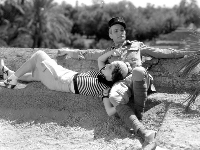 Photo de tournage (Le grand jeu - Jacques Feyder - 1934)