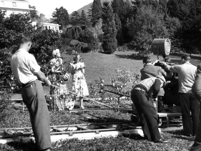 Photo de tournage (Une femme disparaît - Jacques Feyder - 1942)
