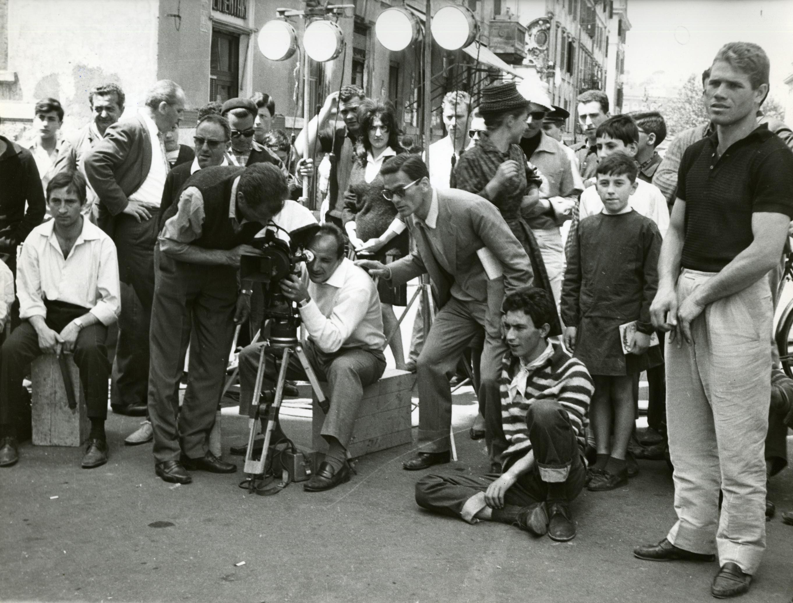 Photographie de tournage, Accattone (Pier Paolo Pasolini), DR
