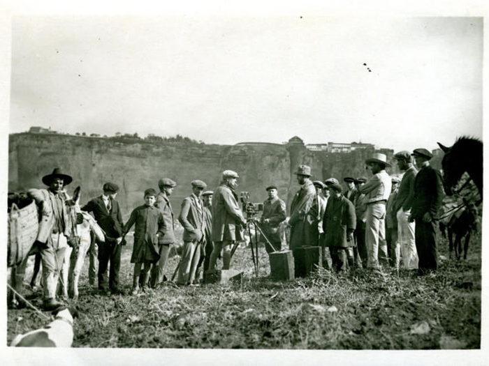 Photographie de tournage (Carmen, Jacques Feyder, 1926)