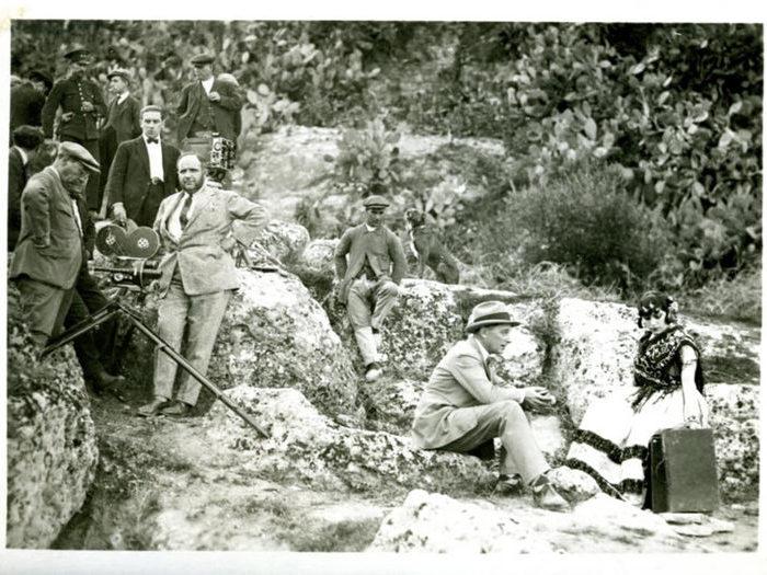 Photographie de tournage de Carmen (Jacques Feyder - 1926)