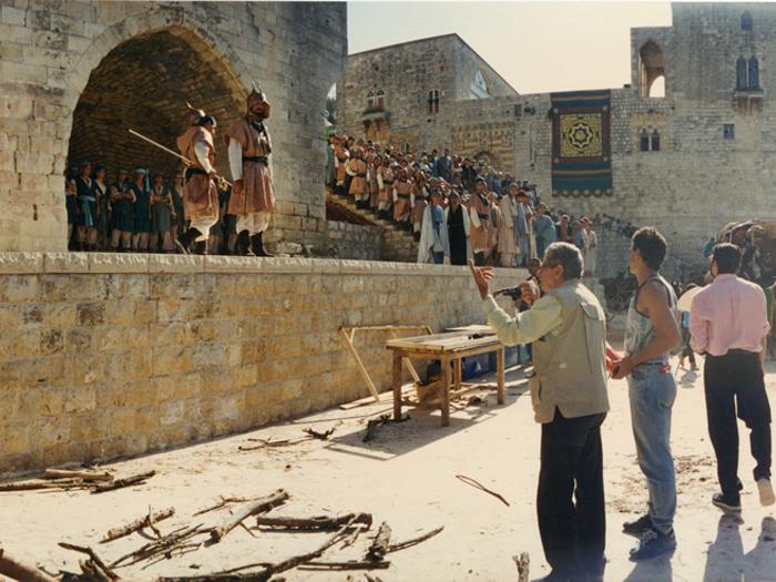 Photographie de tournage «Le Destin» (1996)-D.R.