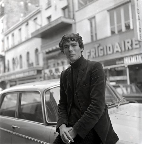 Pierre Clémenti par Marie-France Arnoux, 1967 © M.-F. Arnoux