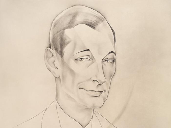 Portrait de Jacques Feyder par Jean Negulesco, Hollywood, 1930