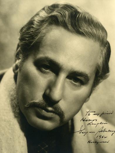 Portrait dédicacé de Josef von Sternberg