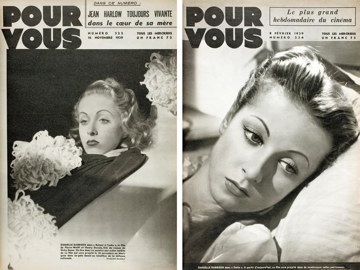 Pour Vous n°522 (16 novembre 1938) « Retour à l'aube » d'Henri Decoin / Pour Vous n°534 (8 février 1939) « Katia » de Maurice Tourneur