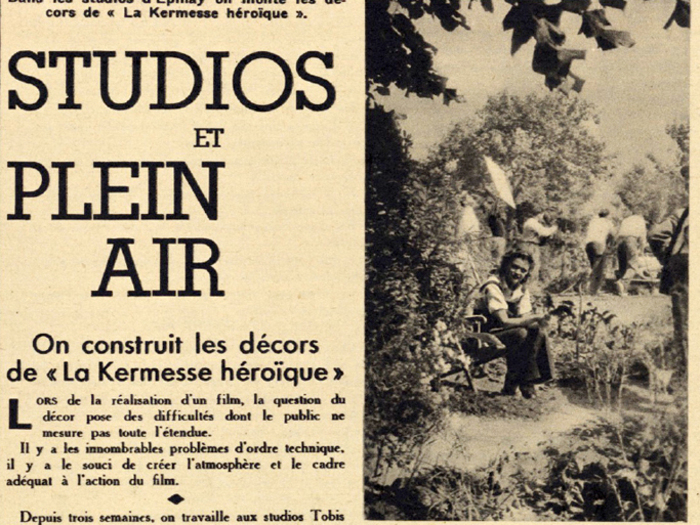 """""""Pour vous"""" n° 347, 11 juillet 1935, fonds Cinémathèque française"""