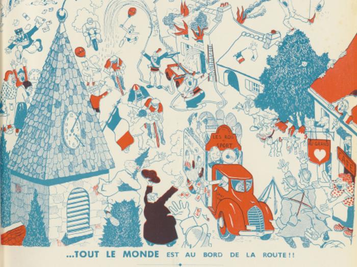 Publicité pour Ignace et Les Rois du sport dans La Revue l'écran n°208 du 28 août 1937