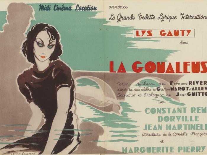 Publicité pour La Goualeuse dans La Revue de l'écran le n°269 du 28 janvier 1939