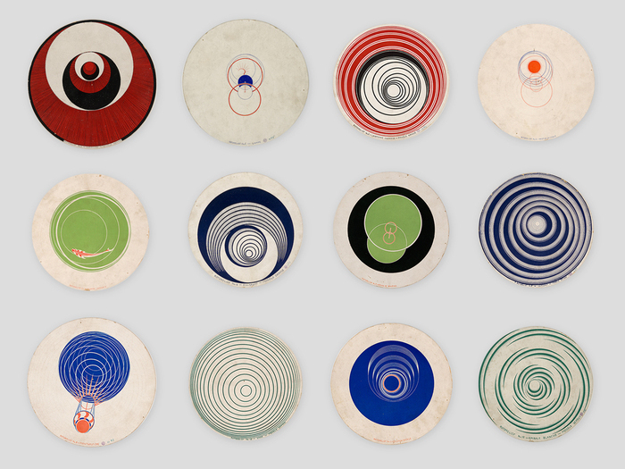 Les Rotoreliefs de Marcel Duchamp © ADAGP