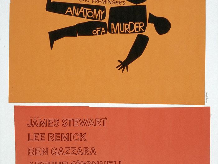 Saul Bass - Autopsie d'un meurtre