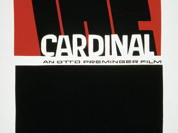 Saul Bass - Le Cardinal