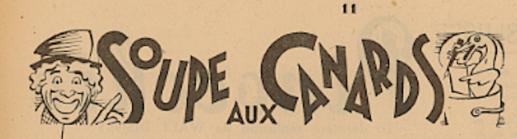 « Soupe aux canards – Nouvelles de partout » dans le n°409B de La Revue de l'écran