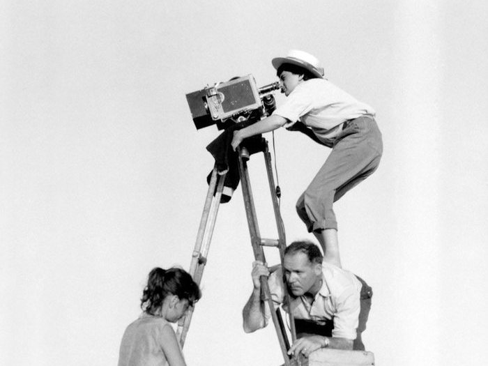 Sur le tournage de La Pointe courte