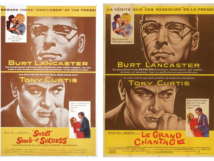 Sweet smell of success le grand chantage