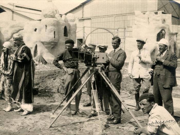 Tournage de Shéhérazade aux Studios de la Victorine