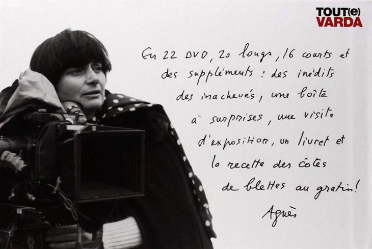 Tout(e) Varda (Coffret DVD intégral de l'œuvre d'Agnès Varda)