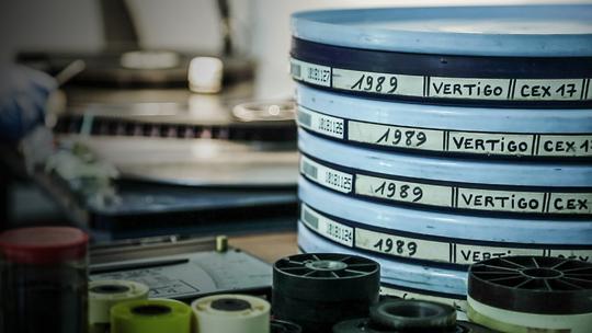 Les collections films de la Cinémathèque