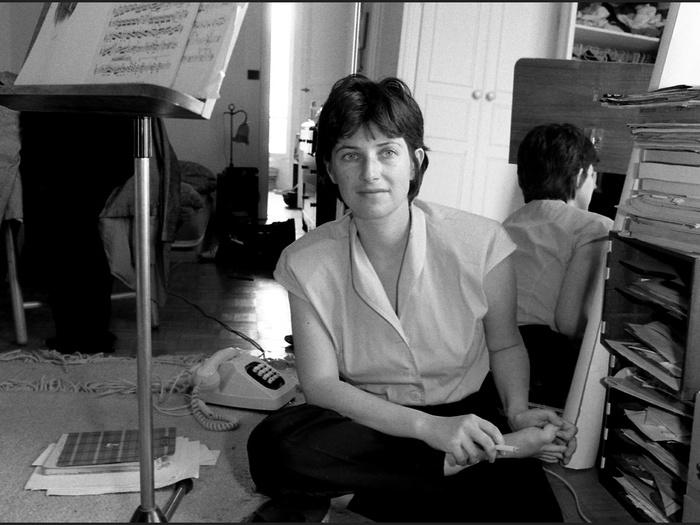 Portrait de Chantal Akerman, 1985 (photographie © Jean Ber)