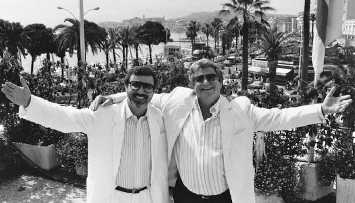 Yoram Globus et Menahem Golan à Cannes
