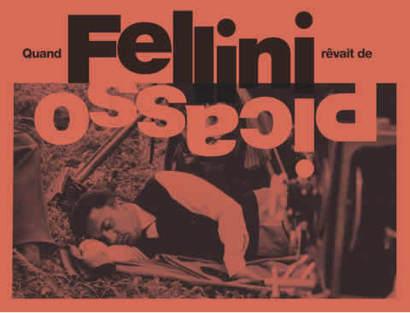 Couverture Catalogue Fellini Picasso signature