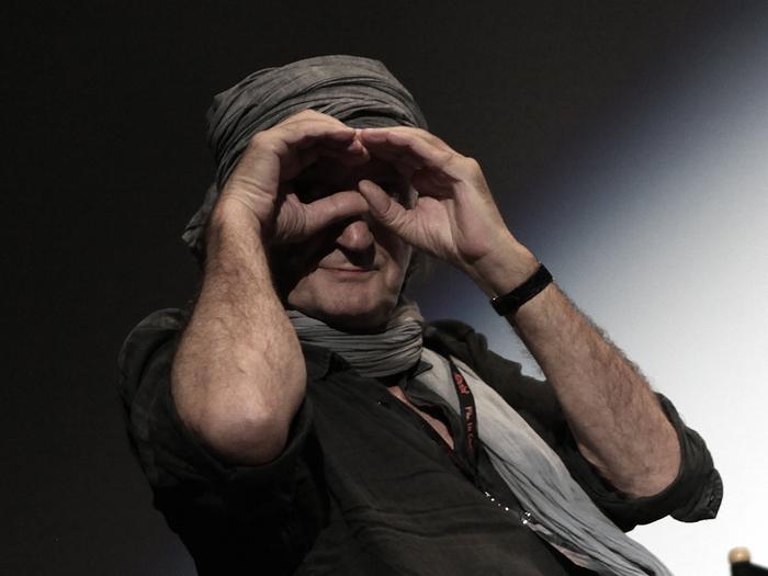 Jean-Pierre Beauviala - lors du Colloque consacré au numérique, à la Cinémathèque française (2011)