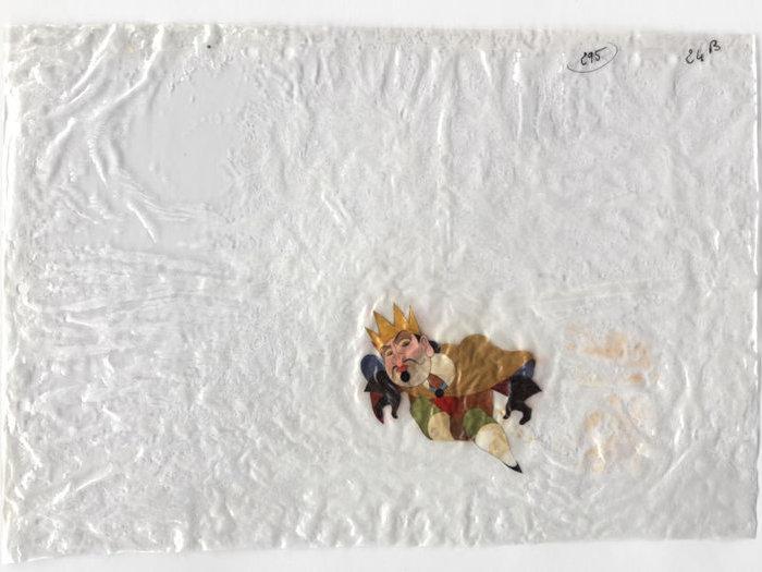 Celluloïds du Roi et l'Oiseau de Paul Grimault : le roi (don du BFI)