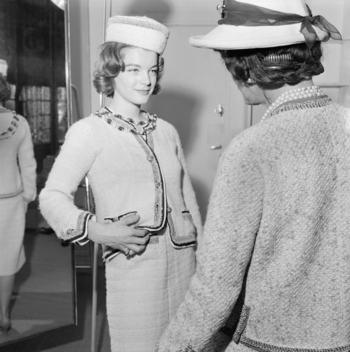 Chanel 1961 Romy Schneider And Gabrielle Chanel Copyright Bottistills Gamma LD