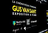 Entrée de l'exposition Gus Van Sant