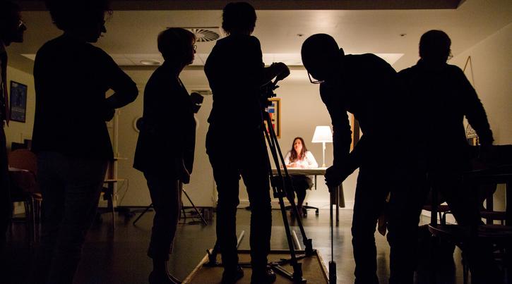 Le cinéma en pratiques : faire la lumière en studio