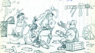 Atelier Animation Goscinny (Story Board Ballade Lucky Luke)