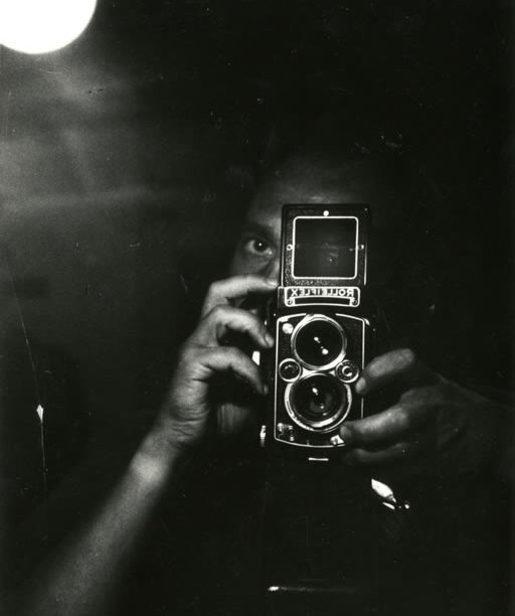 Autoportrait de Chris Marker au Roleix