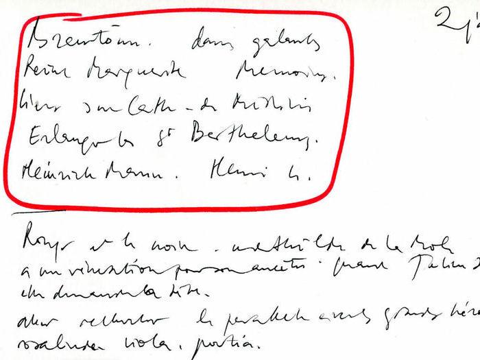 La Reine Margot : Liste des lectures à effectuer « Revoir Marguerite. Mémoires. Heinrich Mann. Henri 4. Rouge et le Noir... »