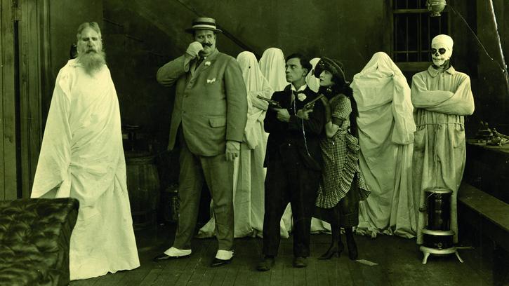 Stage des vacances - Y'a un fantôme dans la maison !