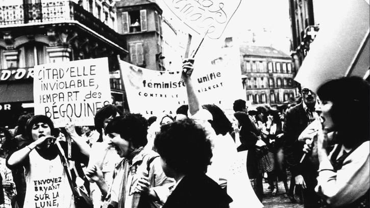 Manifestation contre la répression de l'homosexualité : Juin 1977
