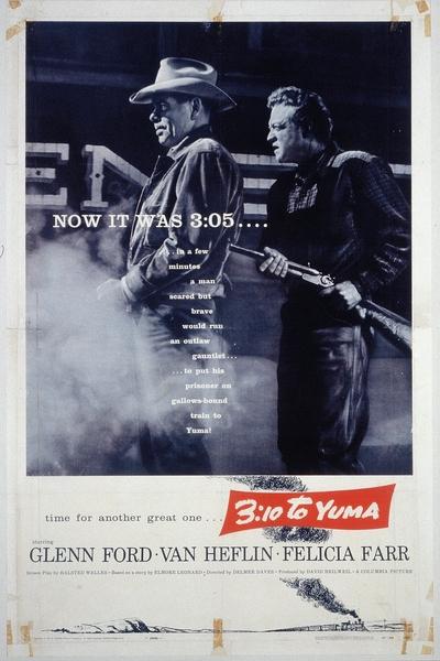 3h10 pour Yuma (Delmer Daves) - affiche originale