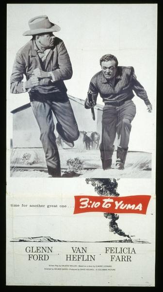 3h10 pour Yuma (Delmer Daves) - affiche pantalon