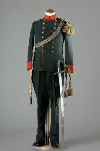 80633 La Symphonie Nuptiale Uniforme Veste Pantalon Port Par Erich Von Stroheim